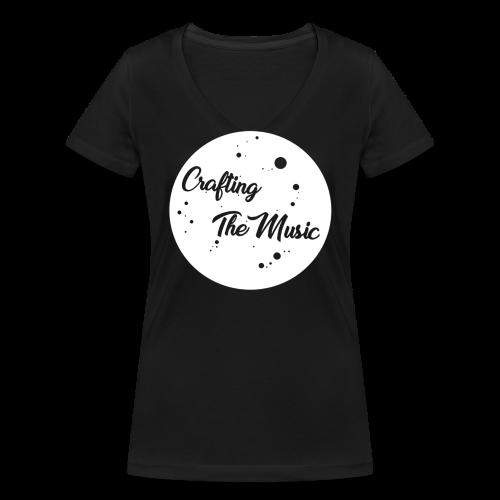 CraftingTheMusic - Women's Organic V-Neck T-Shirt by Stanley & Stella