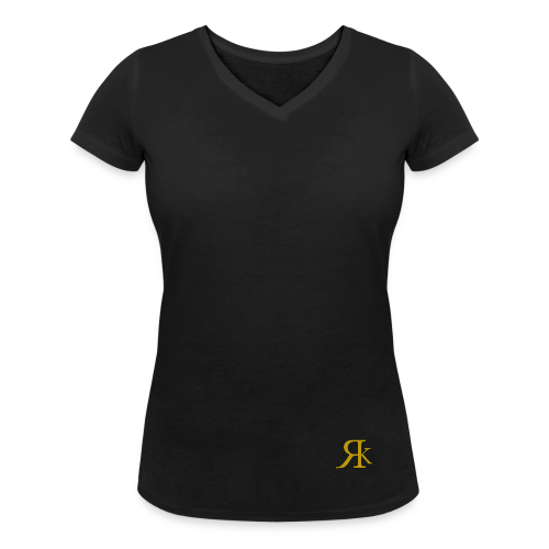 ReKreation. Gold - Frauen Bio-T-Shirt mit V-Ausschnitt von Stanley & Stella