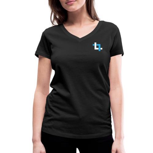 LEOTAG - Frauen Bio-T-Shirt mit V-Ausschnitt von Stanley & Stella