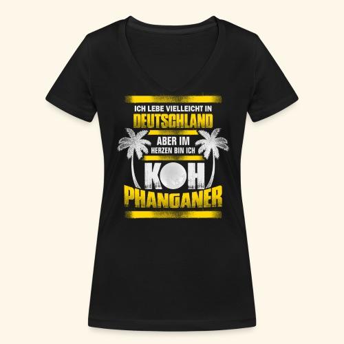 Koh Phanganer Shirt - Frauen Bio-T-Shirt mit V-Ausschnitt von Stanley & Stella