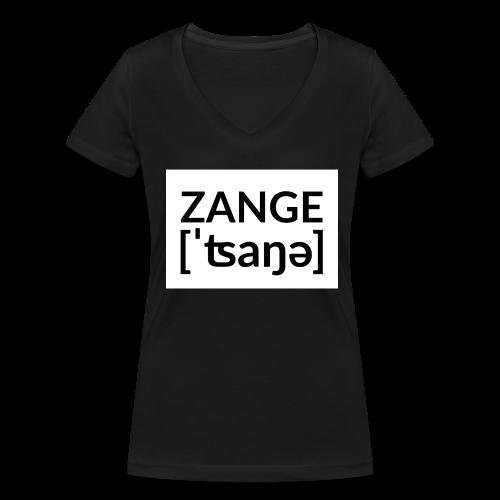 Kleine Zange Untenrum - Frauen Bio-T-Shirt mit V-Ausschnitt von Stanley & Stella