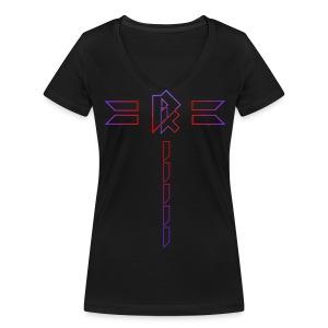 Djekkins First Design - T-shirt bio col V Stanley & Stella Femme