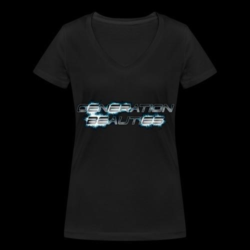 Generation Beauties Frauen - Frauen Bio-T-Shirt mit V-Ausschnitt von Stanley & Stella