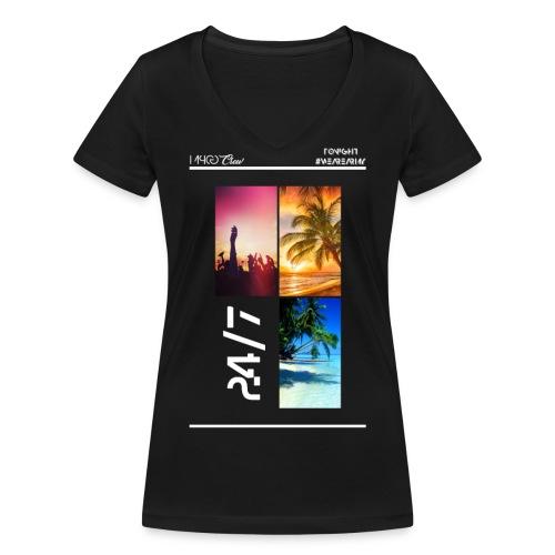 MPCG Crew Summer Party - Frauen Bio-T-Shirt mit V-Ausschnitt von Stanley & Stella