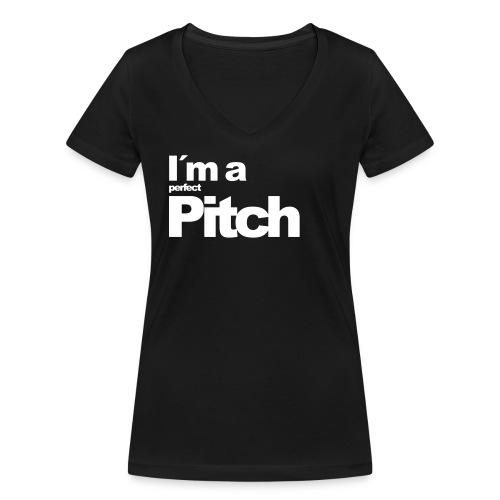 I´m a perfect Pitch - Frauen Bio-T-Shirt mit V-Ausschnitt von Stanley & Stella