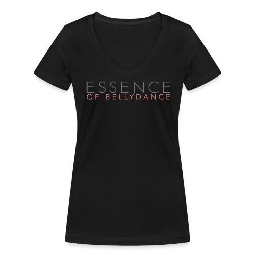 Essence of Bellydance - Frauen Bio-T-Shirt mit V-Ausschnitt von Stanley & Stella