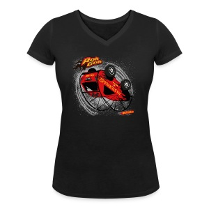RollGolf - Vrouwen bio T-shirt met V-hals van Stanley & Stella