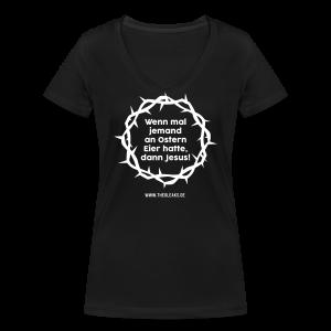 Ostern II - Frauen Bio-T-Shirt mit V-Ausschnitt von Stanley & Stella