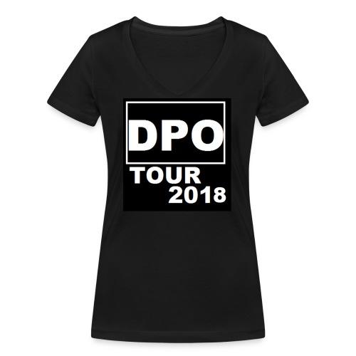 DPO SHOP ABSCHIEDS TOUR 2018 - Frauen Bio-T-Shirt mit V-Ausschnitt von Stanley & Stella