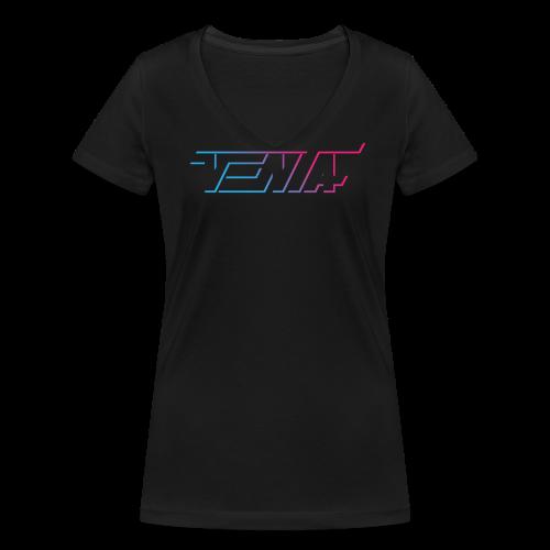 venta | Retro Space - Frauen Bio-T-Shirt mit V-Ausschnitt von Stanley & Stella