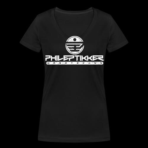 Phileptikker (black) - Frauen Bio-T-Shirt mit V-Ausschnitt von Stanley & Stella