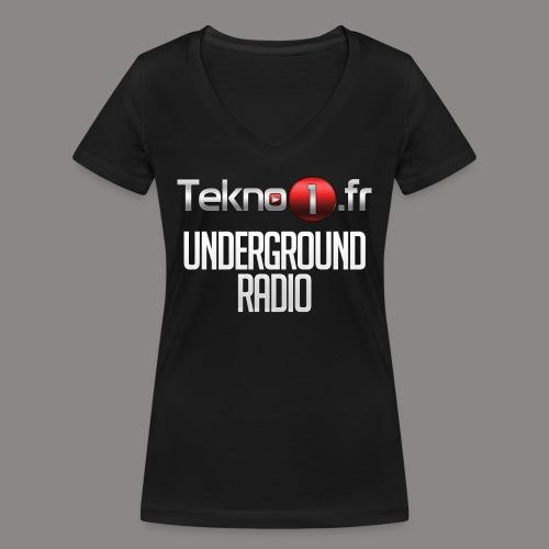 logo tekno1 2000x2000 - T-shirt bio col V Stanley & Stella Femme