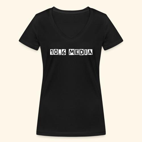 Tee shirt 10.6 MEDIA - T-shirt bio col V Stanley & Stella Femme