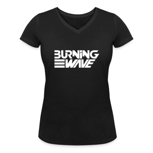 Burning Wave Block - T-shirt bio col V Stanley & Stella Femme