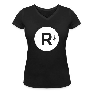 REVIVED - BIG R - Women's Organic V-Neck T-Shirt by Stanley & Stella