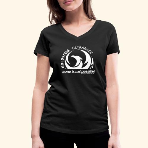 Goldsteig Ultrarace Fan Edition - Frauen Bio-T-Shirt mit V-Ausschnitt von Stanley & Stella