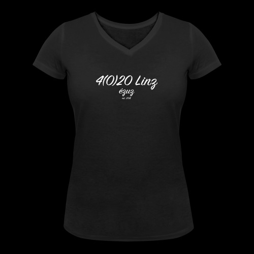 4 (0) 20 - Linz - Women's Organic V-Neck T-Shirt by Stanley & Stella