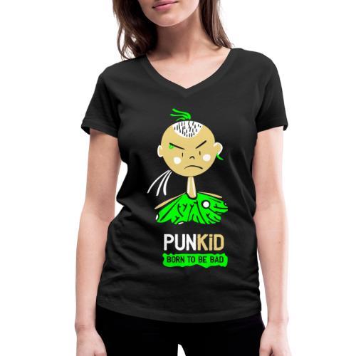 Punkid Bold - Camiseta ecológica mujer con cuello de pico de Stanley & Stella