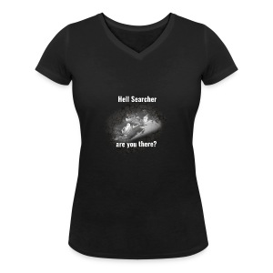 Searching For Hell Bag Black - Women's Organic V-Neck T-Shirt by Stanley & Stella