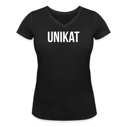 Unikat - Frauen Bio-T-Shirt mit V-Ausschnitt von Stanley & Stella