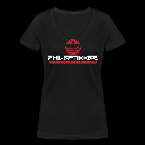 Phileptikker (standard) - Frauen Bio-T-Shirt mit V-Ausschnitt von Stanley & Stella