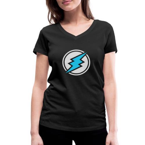 ETN logo # 2 - Women's Organic V-Neck T-Shirt by Stanley & Stella