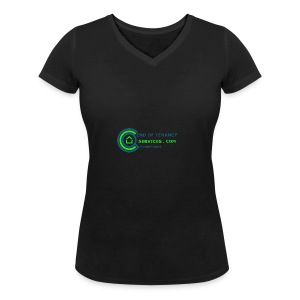 eot70 - Women's Organic V-Neck T-Shirt by Stanley & Stella