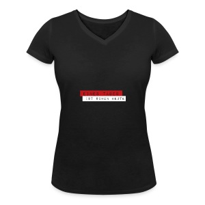 Eines Tages - Frauen Bio-T-Shirt mit V-Ausschnitt von Stanley & Stella