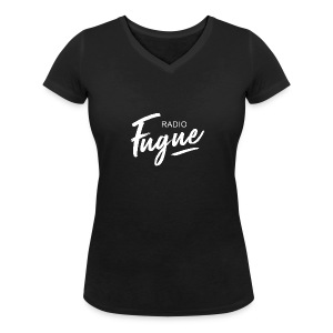Radio Fugue Blanc - T-shirt bio col V Stanley & Stella Femme