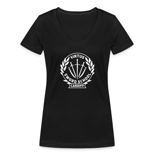 Virtus Cardiff - Women's Organic V-Neck T-Shirt by Stanley & Stella