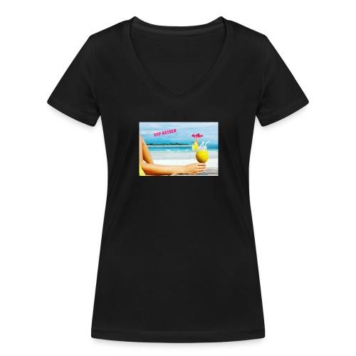 vipreiser 2017 design - Økologisk T-skjorte med V-hals for kvinner fra Stanley & Stella