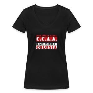 CCAA - Frauen Bio-T-Shirt mit V-Ausschnitt von Stanley & Stella