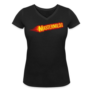 Mastermilo basic - Vrouwen bio T-shirt met V-hals van Stanley & Stella