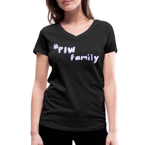 #PIW Family Fan Collection - Frauen Bio-T-Shirt mit V-Ausschnitt von Stanley & Stella
