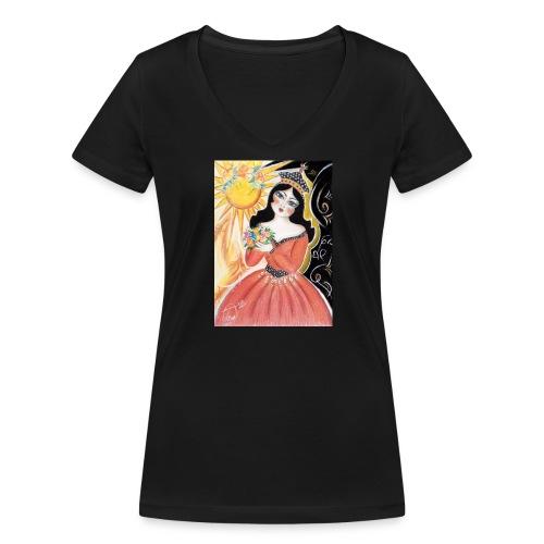 miniator - Frauen Bio-T-Shirt mit V-Ausschnitt von Stanley & Stella