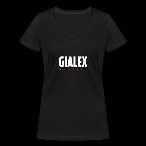 thumbnail IMG 1421 - T-shirt ecologica da donna con scollo a V di Stanley & Stella