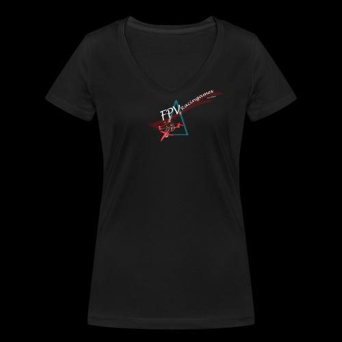 L'Original FPVRacinggames - T-shirt bio col V Stanley & Stella Femme