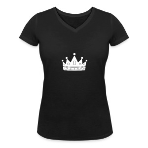 Signature Crown - Women's Organic V-Neck T-Shirt by Stanley & Stella