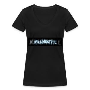 DerHardstyle ONE - Frauen Bio-T-Shirt mit V-Ausschnitt von Stanley & Stella