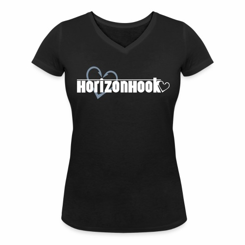 HorizonHook - Women's Organic V-Neck T-Shirt by Stanley & Stella