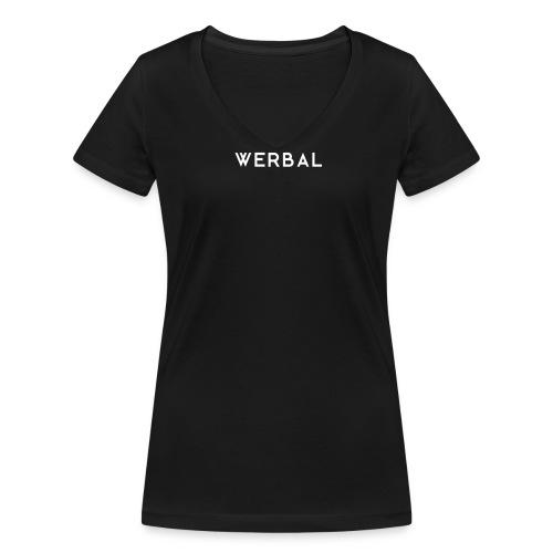 Logo Design - Frauen Bio-T-Shirt mit V-Ausschnitt von Stanley & Stella