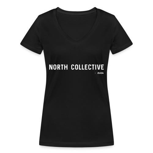 nc zuza - Vrouwen bio T-shirt met V-hals van Stanley & Stella