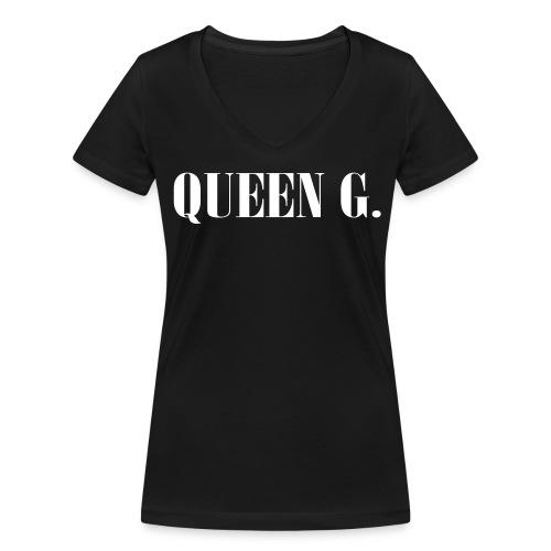 Queen G. Du bist die Königin! - Frauen Bio-T-Shirt mit V-Ausschnitt von Stanley & Stella