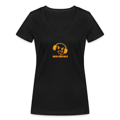 ggw kvadrat 400 - Økologisk Stanley & Stella T-shirt med V-udskæring til damer