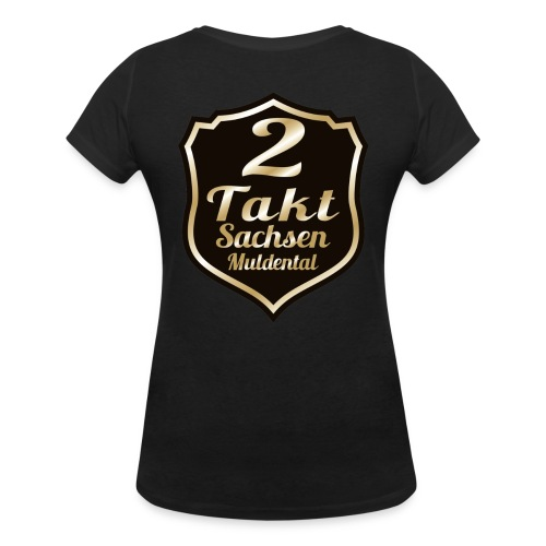 2 Takt Sachsen/ Muldental Merchandising - Frauen Bio-T-Shirt mit V-Ausschnitt von Stanley & Stella