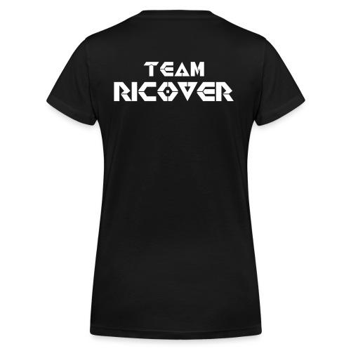 Team Ricover Witte Tekst - Vrouwen bio T-shirt met V-hals van Stanley & Stella