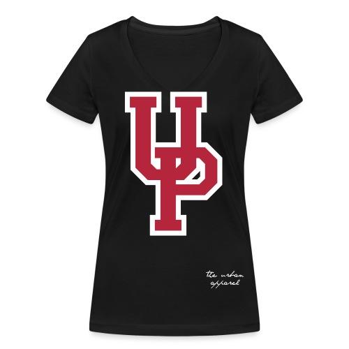 UP College - T-shirt ecologica da donna con scollo a V di Stanley & Stella