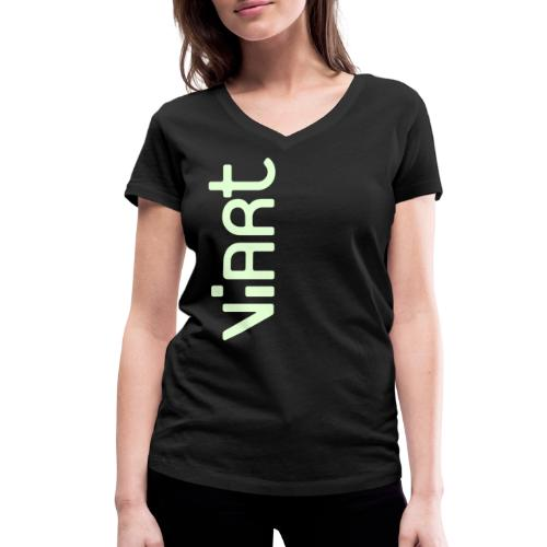 ViArt Logo - Frauen Bio-T-Shirt mit V-Ausschnitt von Stanley & Stella