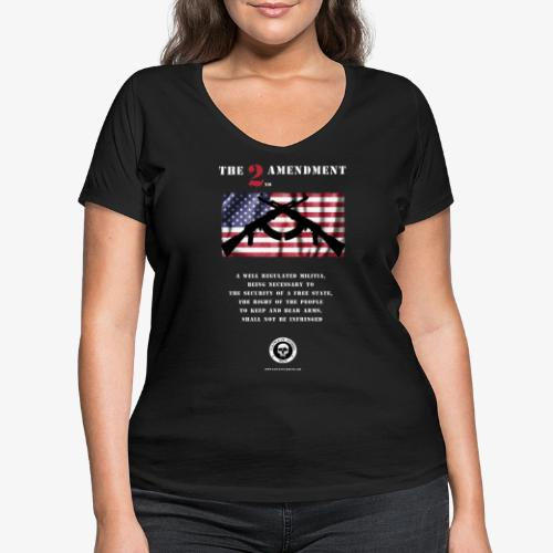 2nd Amendment - Frauen Bio-T-Shirt mit V-Ausschnitt von Stanley & Stella