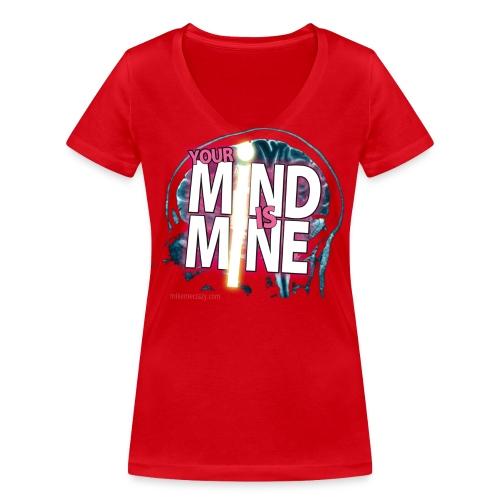 yourmindisminegirl png - T-shirt bio col V Stanley & Stella Femme